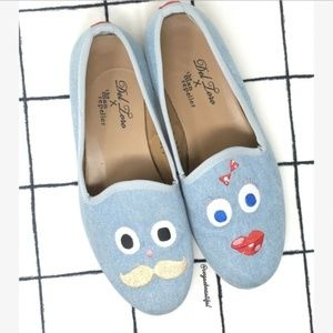 Del Toro x The Man Repeller Goofy Faces Loafers